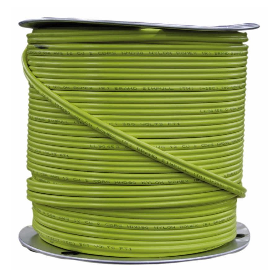 1000-ft 12-2 Indoor Non-Metallic Wire