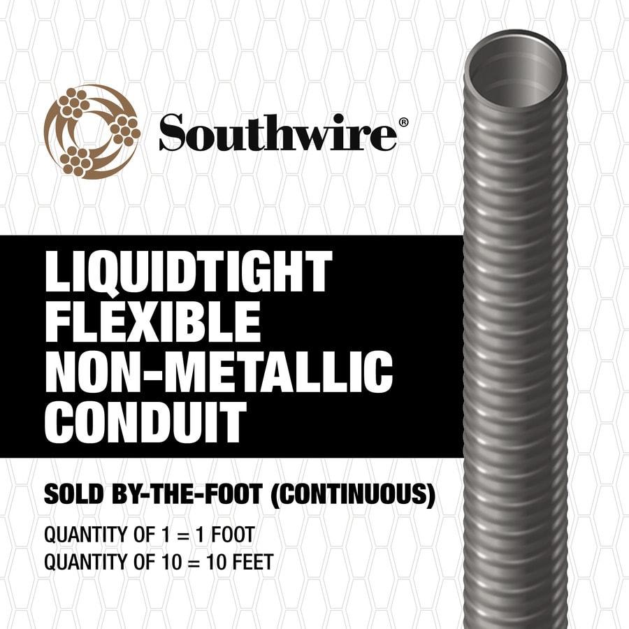 Liquidtight Flexible Non-Metallic Conduit (LFNC) (By-The-Foot) (Common: 1-in; Actual: 1-in)
