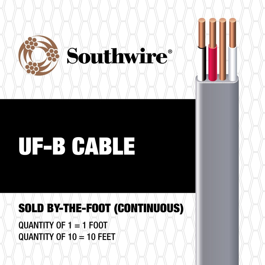 12-3 UF Wire (By-the-Foot)