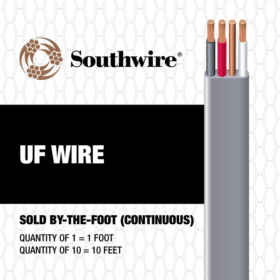 6-3 UF Wire (By-the-Foot)