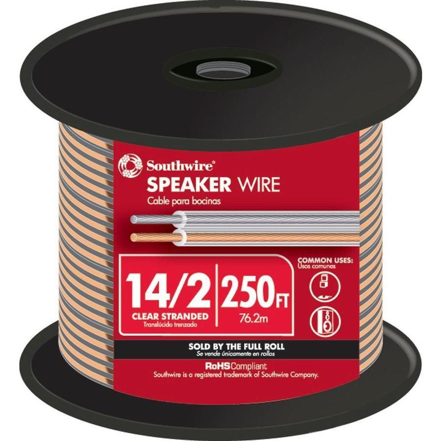 250-ft 14-2 Standard Speaker Wire