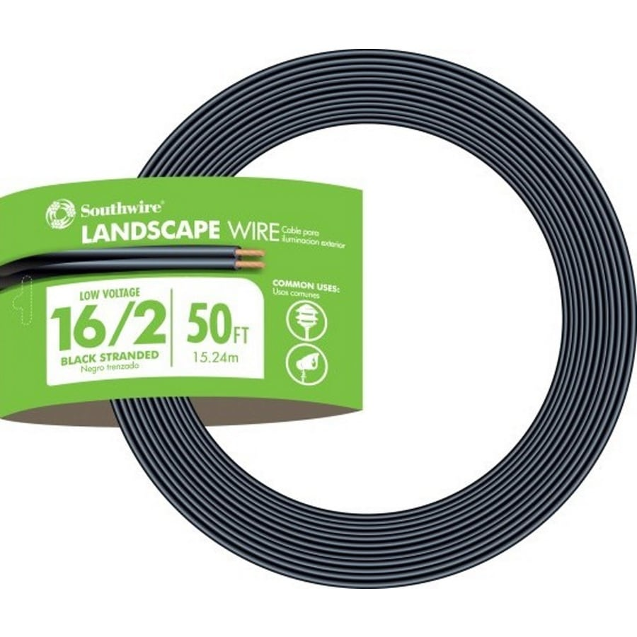 Southwire 50-ft 16-Gauge 2-Conductor Landscape Lighting Cable