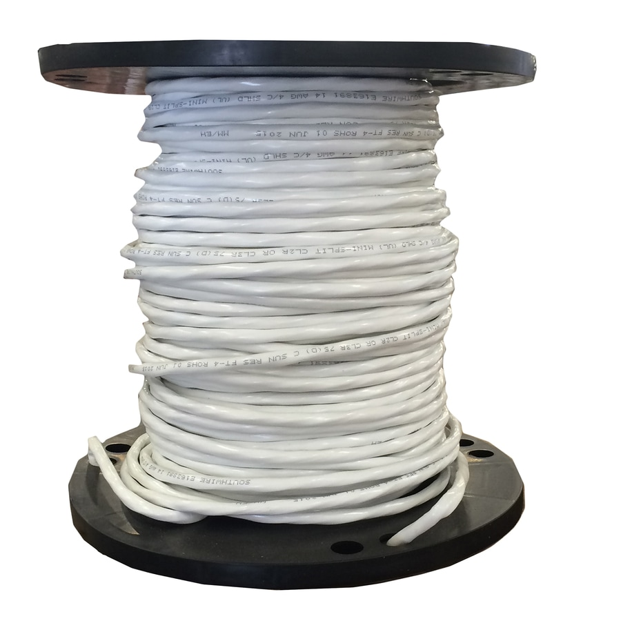 Southwire 250-ft 14-AWG Stranded Copper Wire (By-the-Roll)