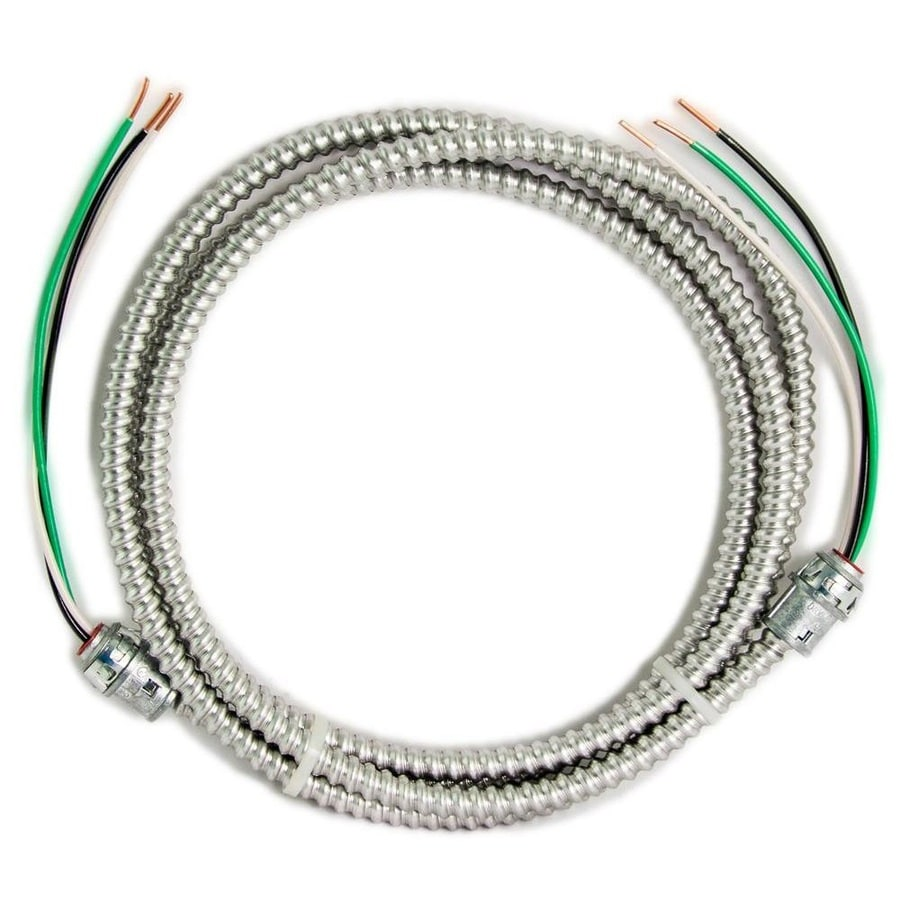 Shop Southwire 12 Ft 12 Gauge 2 Conductor Mc Modular Whip