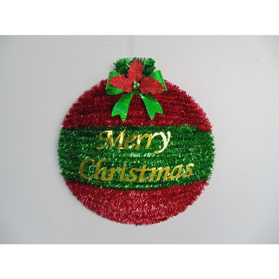 Holiday Living 18-in Unlit Berry Artificial Christmas Wreath