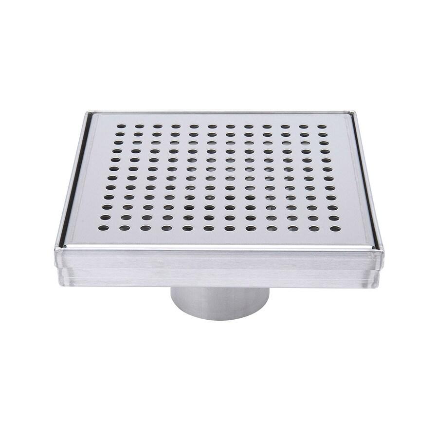 B&K 2-in Dia Gray Stainless Steel Linear Shower Drain