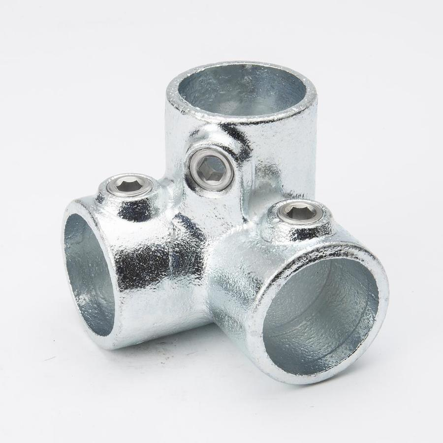 B&K 1-1/4-in x 1-1/4-in 90-Degree Gray Galvanized Steel Structural Pipe Fitting Elbow