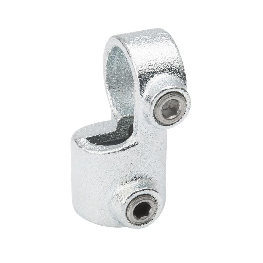 Shop b k in degree gray galvanized steel