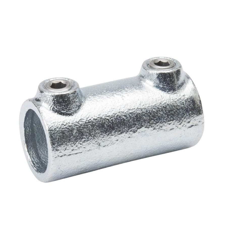 Metal Pipe Coupling : Shop b k in gray galvanized steel structural