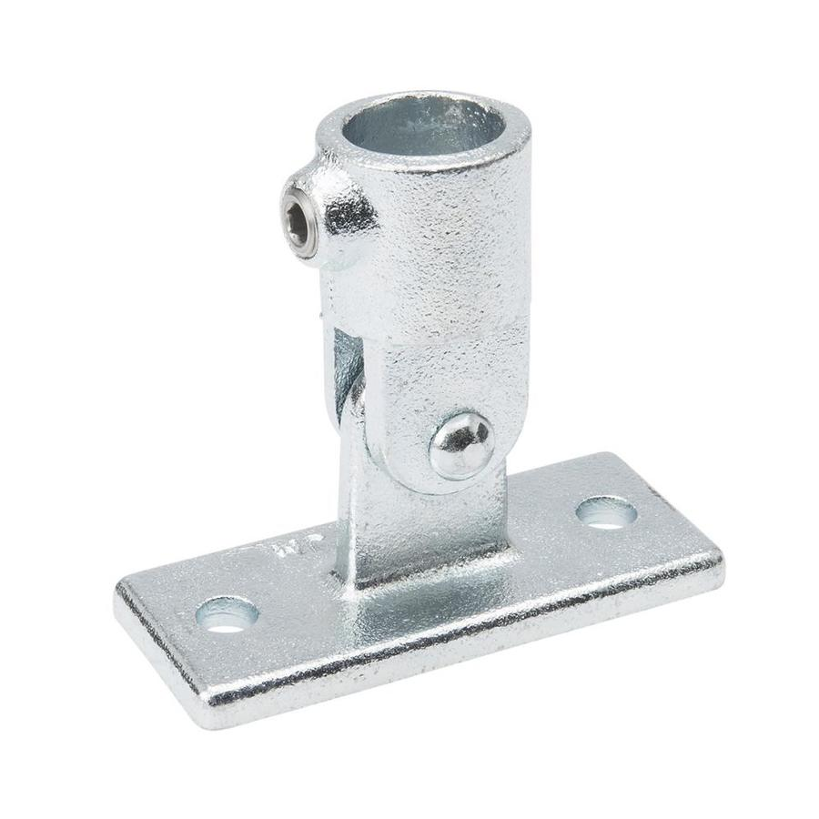 B&K 3/4-in x 3/4-in Gray Galvanized Steel Structural Pipe Fitting Swivel Base