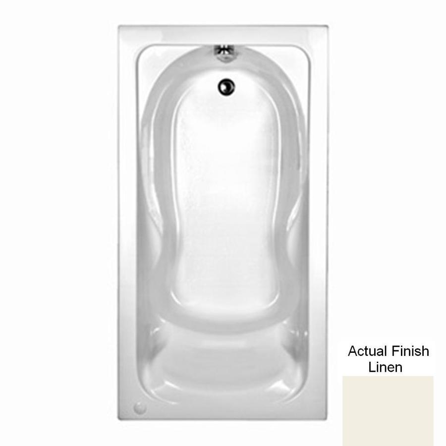 American Standard Cadet Acrylic Rectangular Drop-in Bathtub with Reversible Drain (Common: 36-in x 60-in; Actual: 19.75-in x 36-in x 60-in)