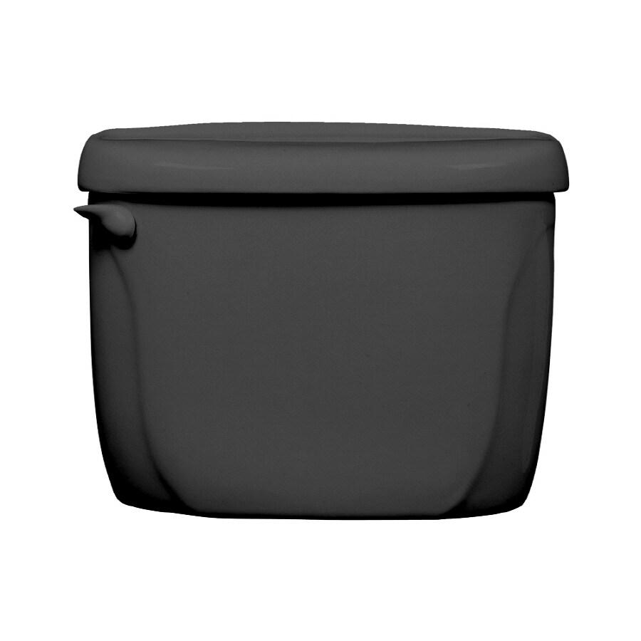 American Standard Cadet Black Toilet Tank Lid