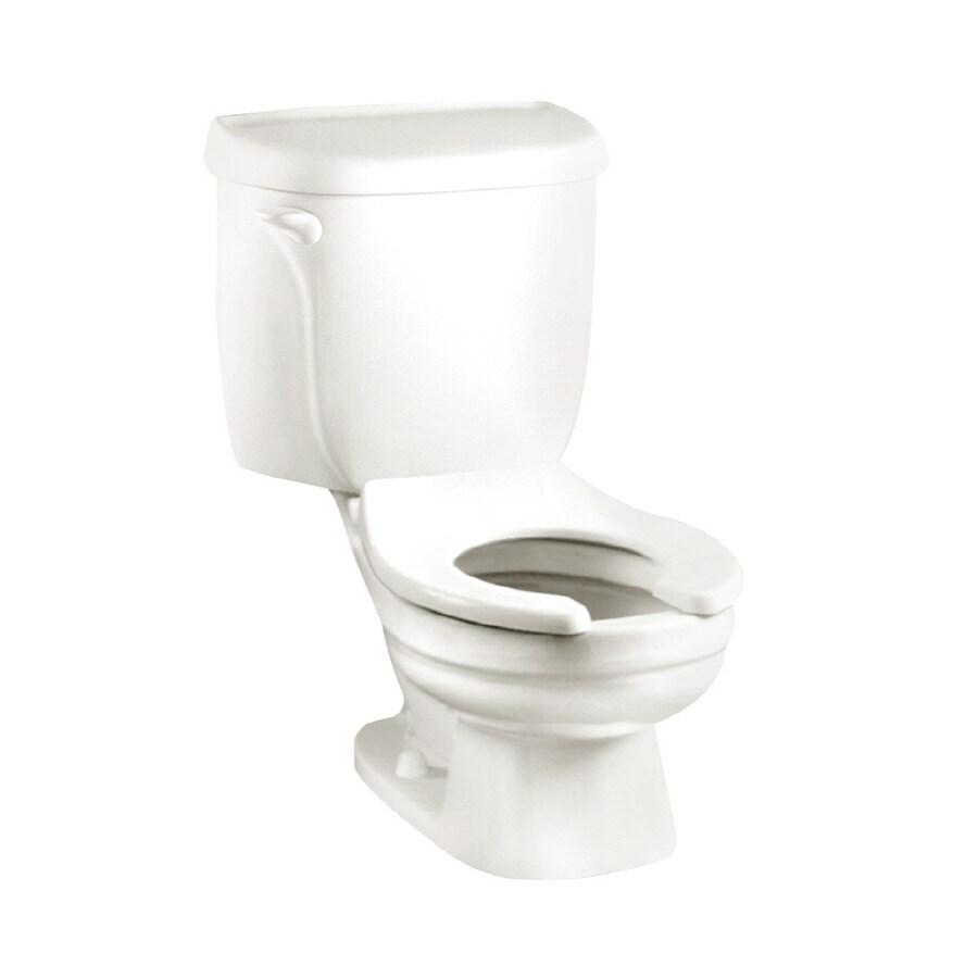 American Standard Baby Devoro White 1.6-GPF (6.06-LPF) 10-in Rough-In Round 2-Piece Children's Height Toilet