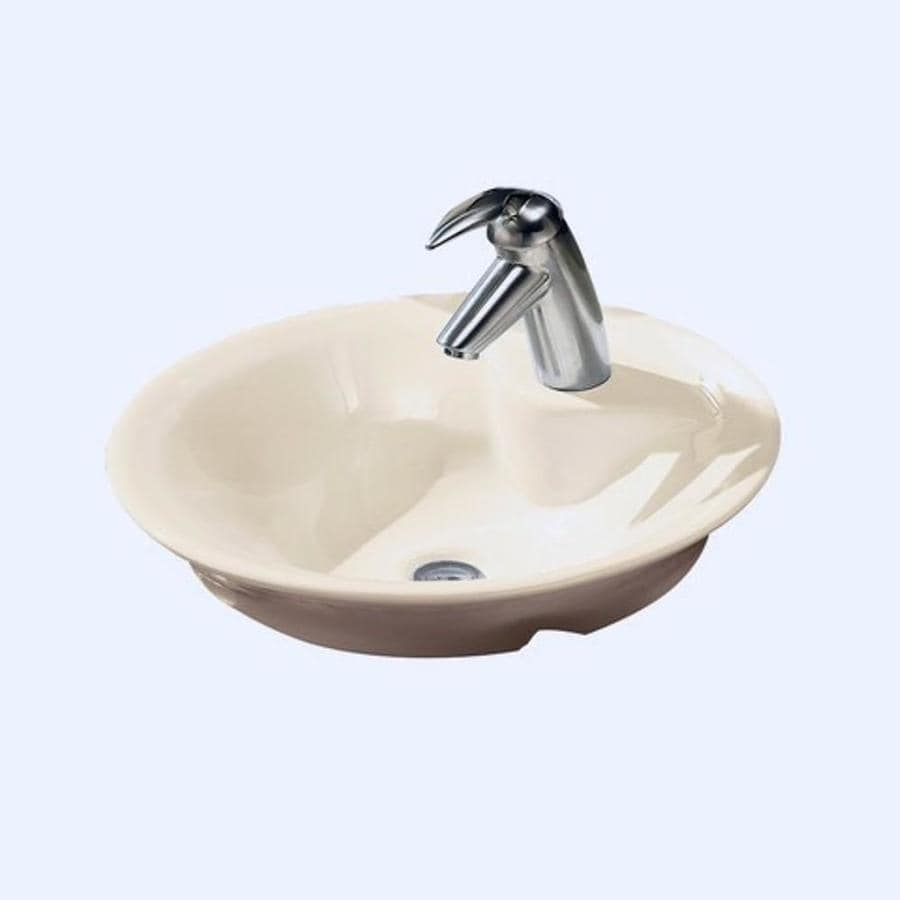 Shop American Standard Morning White Vessel Bathroom Sink at Lowes.com