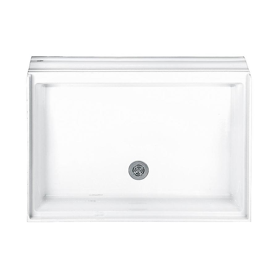 American Standard Town Square White Acrylic Shower Base (Common: 34-in W x 48-in L; Actual: 34-in W x 48-in L)