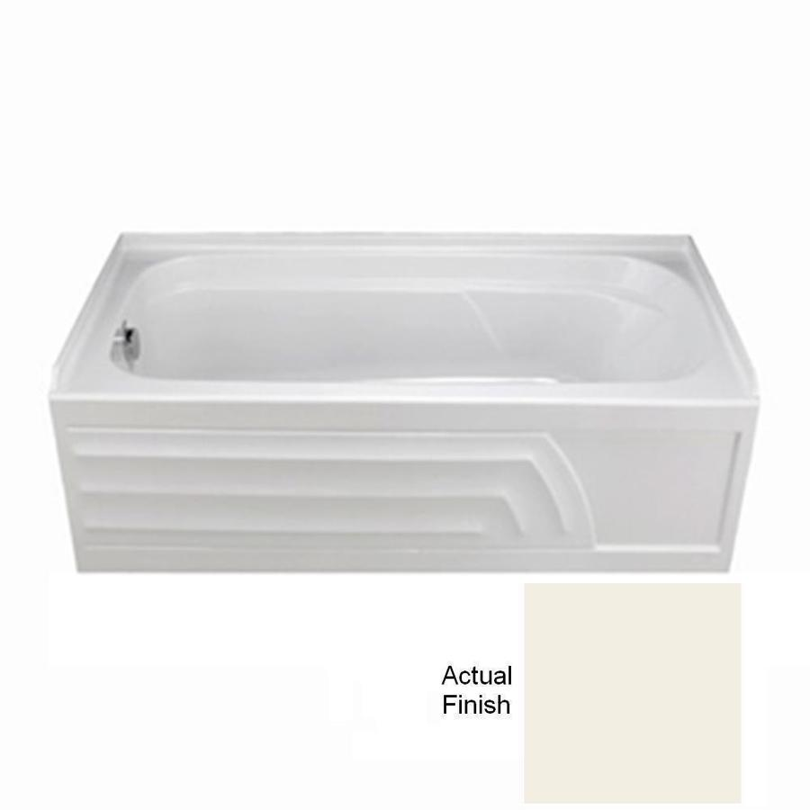 American Standard Colony Acrylic Rectangular Skirted Bathtub with Left-Hand Drain (Common: 32-in x 66-in; Actual: 19.5-in x 32-in x 66-in)