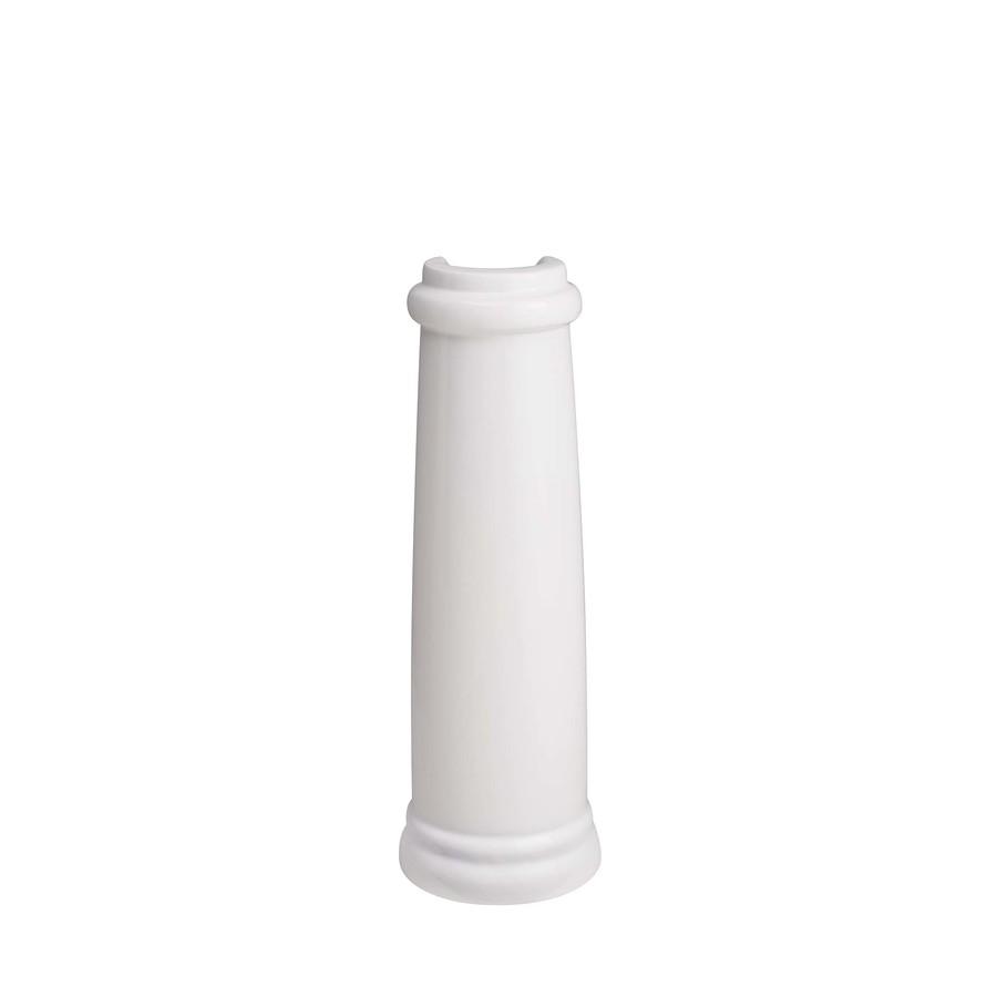 American Standard Retrospect 28.25-in H White Fireclay Pedestal Sink Base