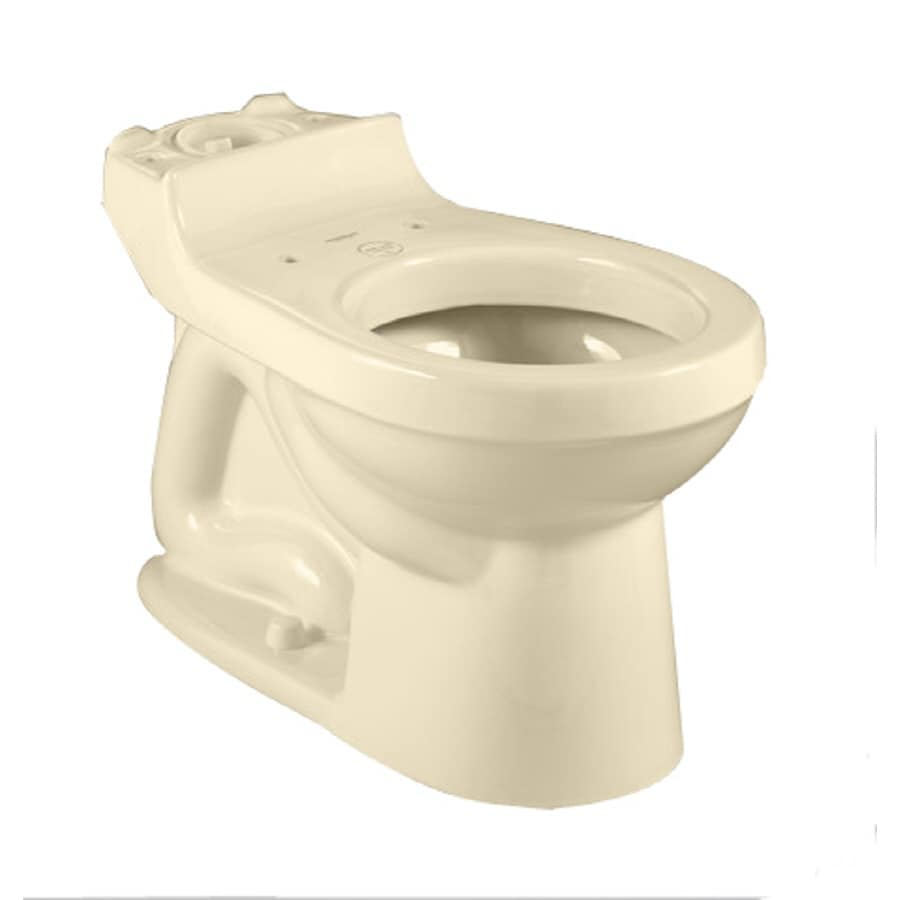 American Standard Champion 4 Standard Height Bone 12-In Rough-In Round Toilet Bowl