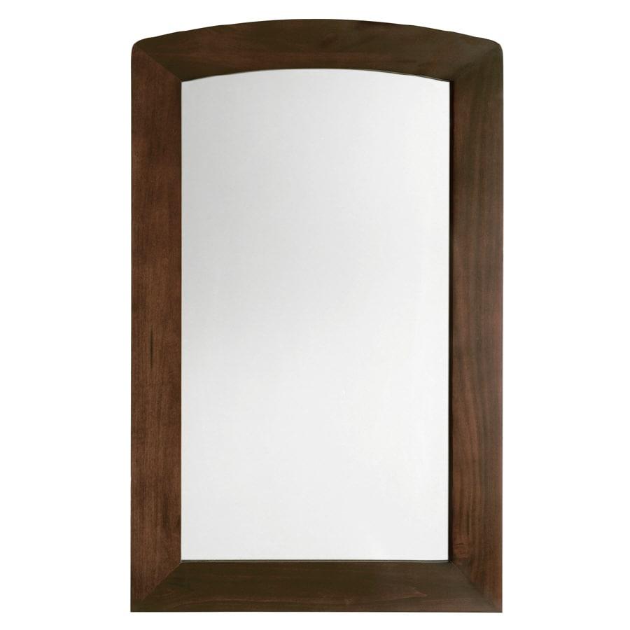 American Standard 35-1/2-in H x 22-in W Jefferson Autumn Cherry Rectangular Bathroom Mirror