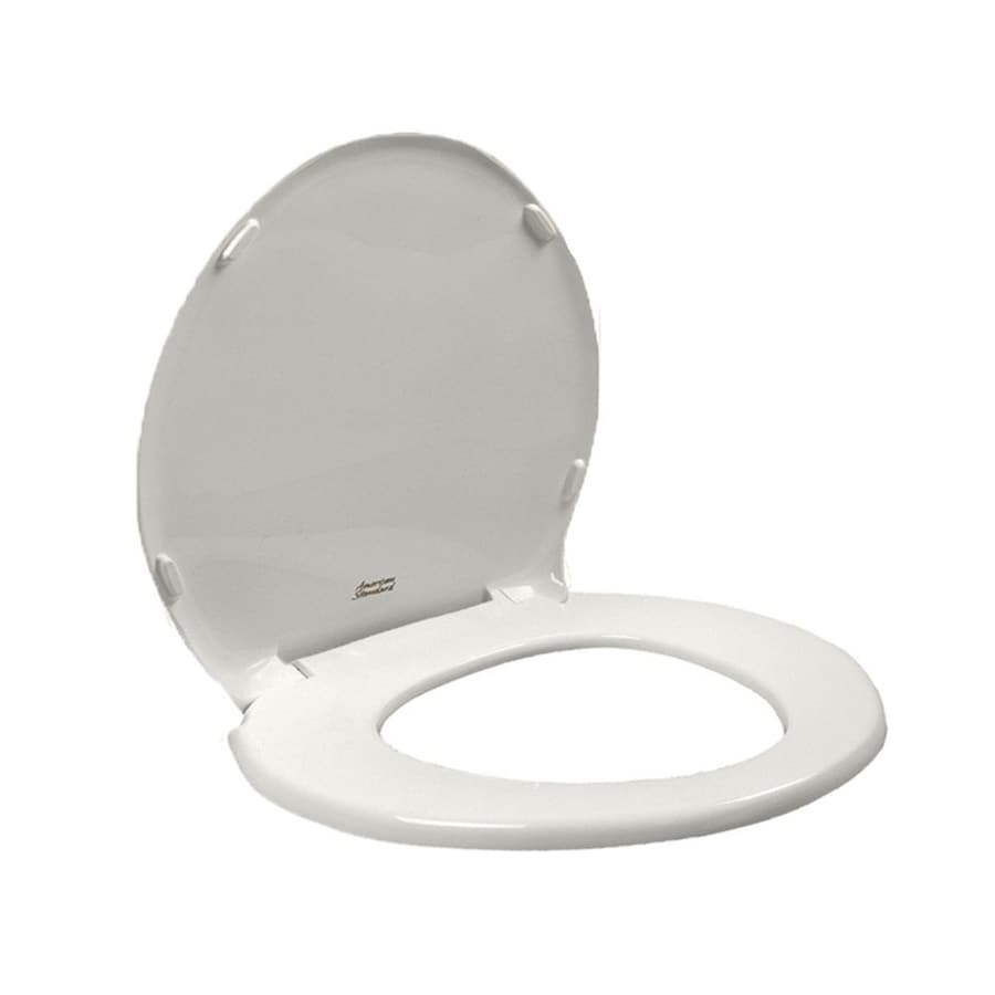 American Standard Champion White Plastic Round Slow Close Toilet Seat