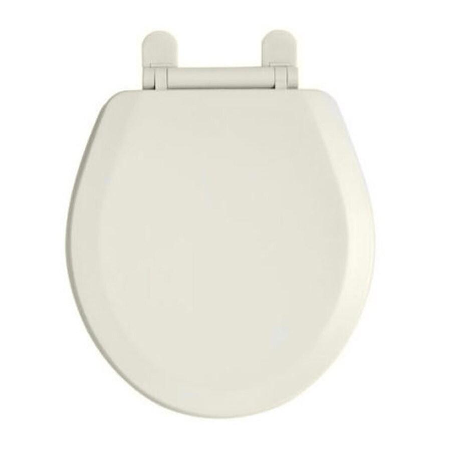 American Standard Champion Linen Plastic Round Slow Close Toilet Seat