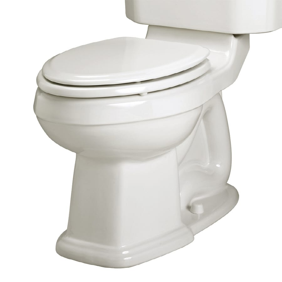 American Standard Portsmouth Chair Height White 12-in Rough-In Round Toilet Bowl