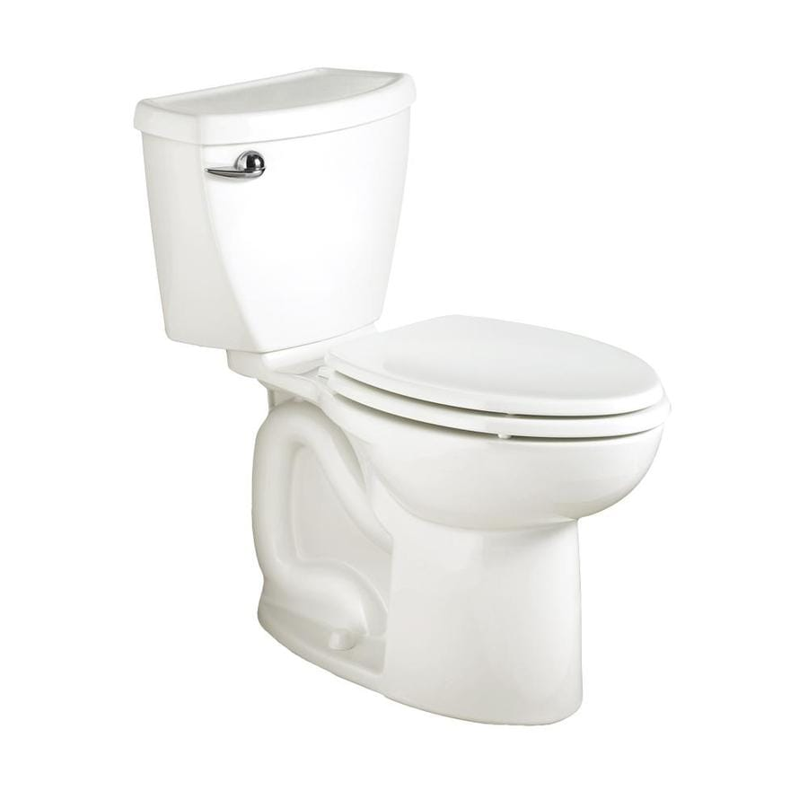 American Standard Cadet 3 White 1.6-GPF 12-in Rough-in Elongated 2-Piece Comfort Height Toilet
