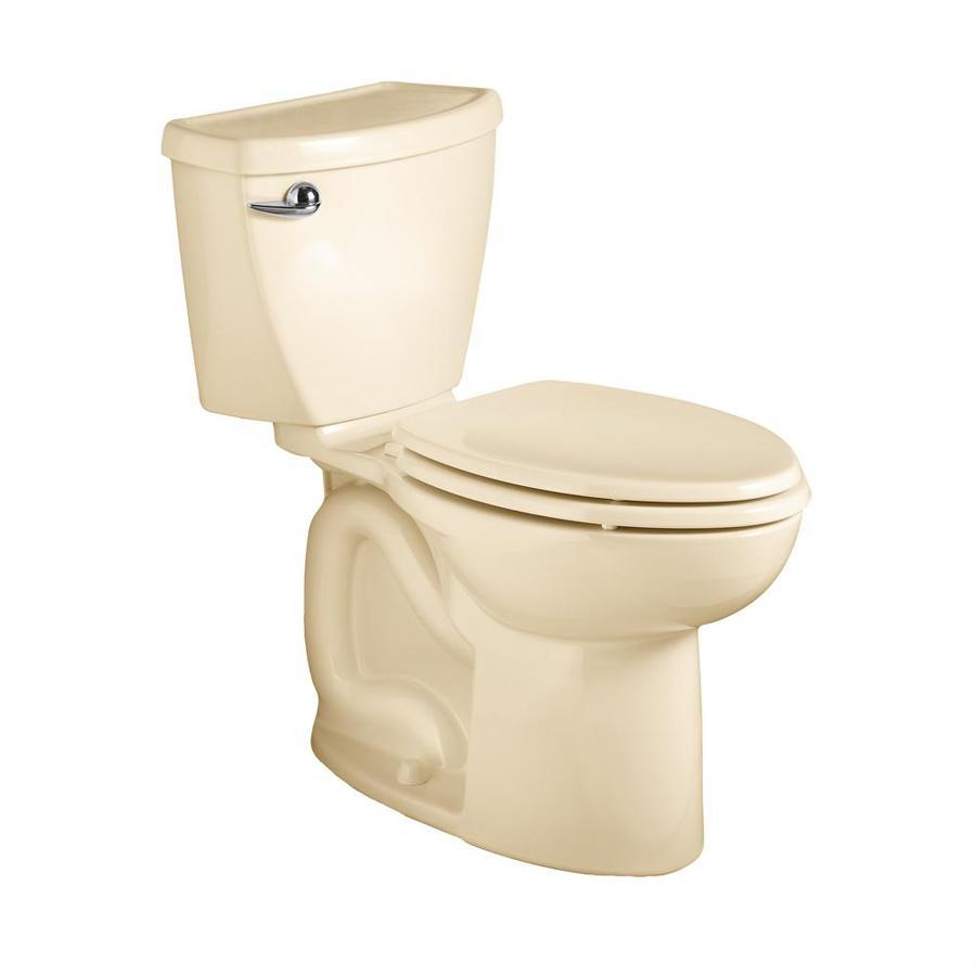 American Standard Cadet 3 Bone 1.6-GPF/6.06-LPF 12-in Rough-in Elongated 2-Piece Comfort Height Toilet