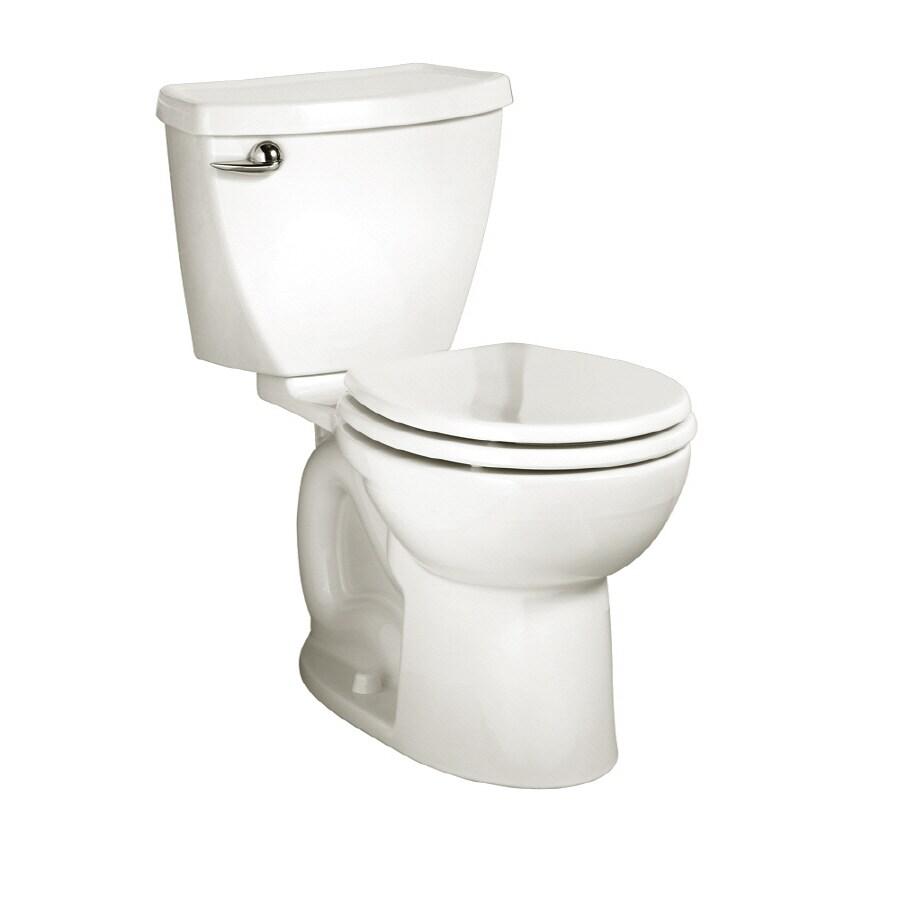 American Standard Cadet 3 White 1.6 GPF Round 2-Piece Toilet