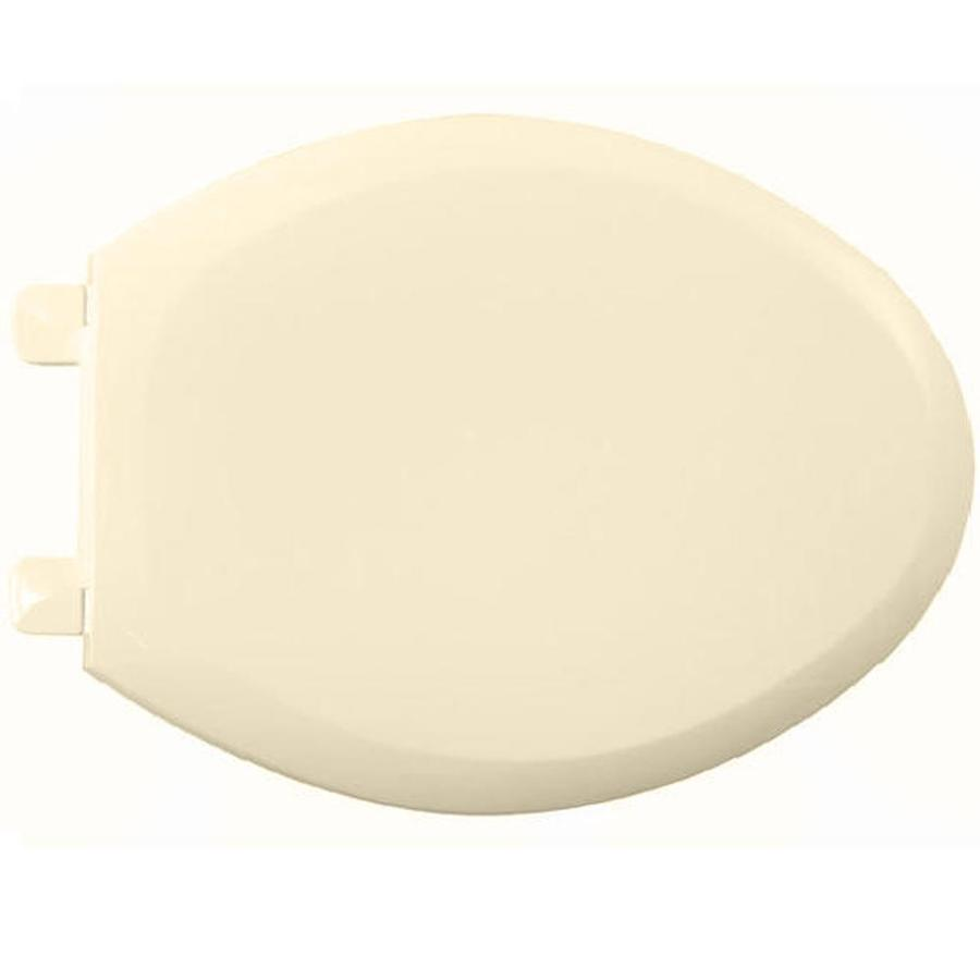 American Standard EverClean Bone Plastic Elongated Toilet Seat