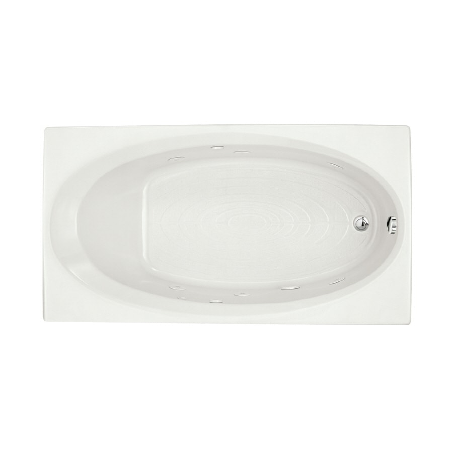 Shop American Standard Evolution White Acrylic Oval In