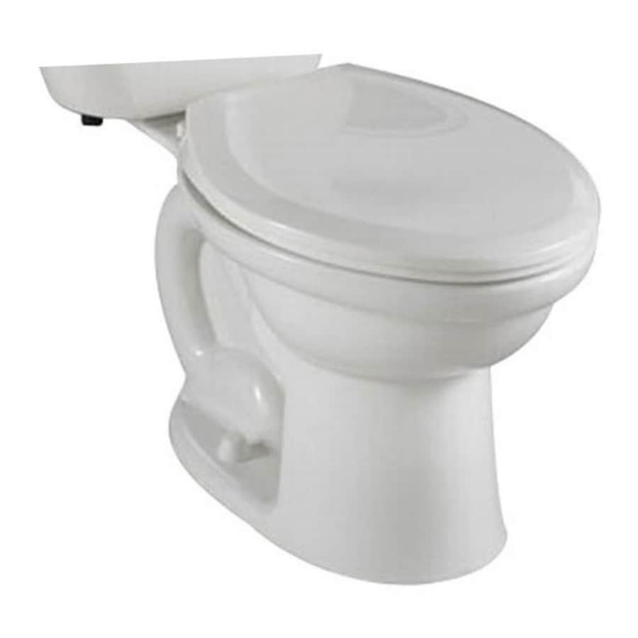 American Standard Colony Standard Height White 10-In Rough-In Round Toilet Bowl