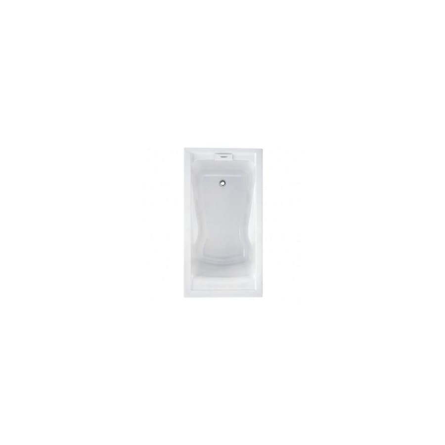 American Standard Evolution Acrylic Rectangular Skirted Bathtub with Right-Hand Drain (Common: 32-in x 60-in; Actual: 21.5-in x 32-in x 60-in)