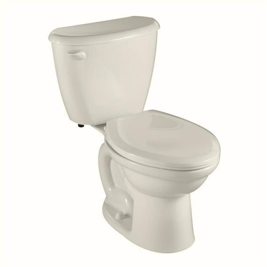American Standard Colony Linen 1.6-GPF (6.06-LPF) 10-in Rough-In Elongated 2-Piece Comfort Height Toilet