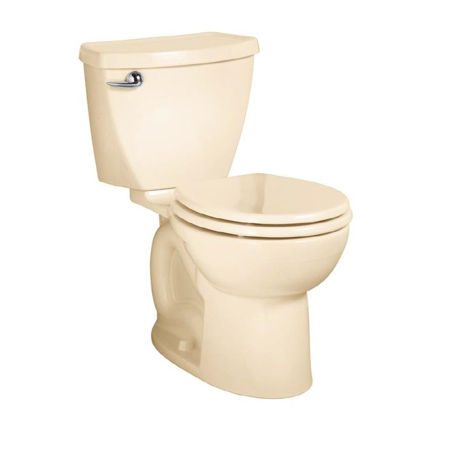 American Standard Cadet 3 FloWise Bone 1.28 GPF WaterSense Round 2-Piece Toilet
