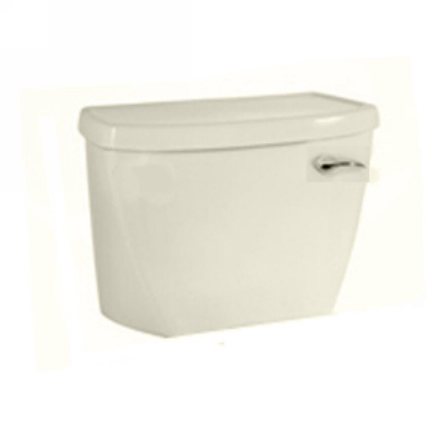 American Standard Linen 1.6-GPF (6.06-LPF) 12-in Rough-In Pressure Assist Single-Flush High-Efficiency Toilet Tank