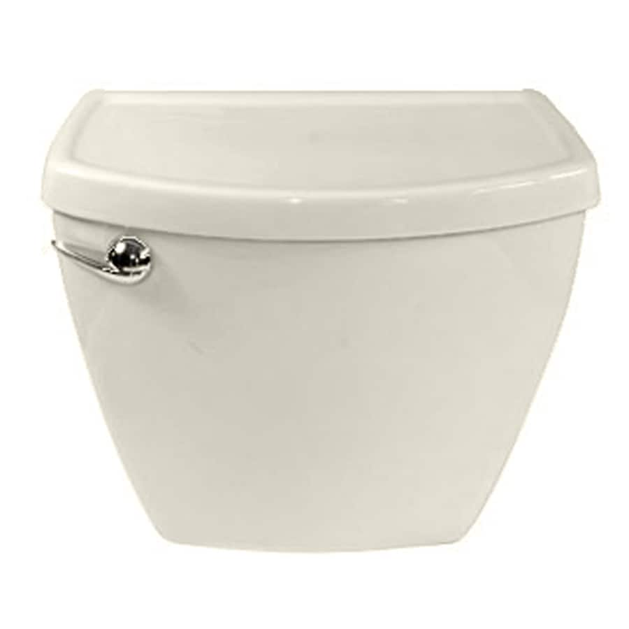 American Standard Cadet 3 FloWise Linen 1.28-GPF (4.85-LPF) 12-in Rough-In Single-Flush High-Efficiency Toilet Tank