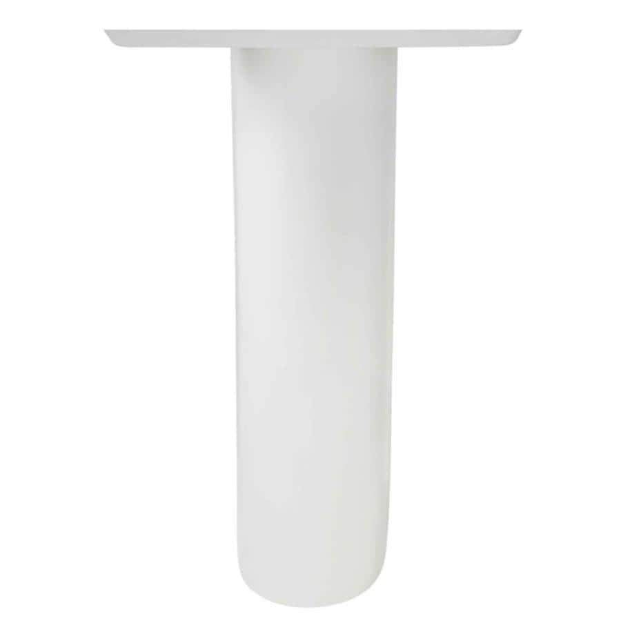 American Standard Boulevard Tropic 28.5-in H White Vitreous China Pedestal Sink Base