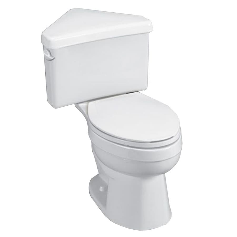 American Standard Titan White 1.6 GPF Elongated 2-Piece Comfort Height Toilet