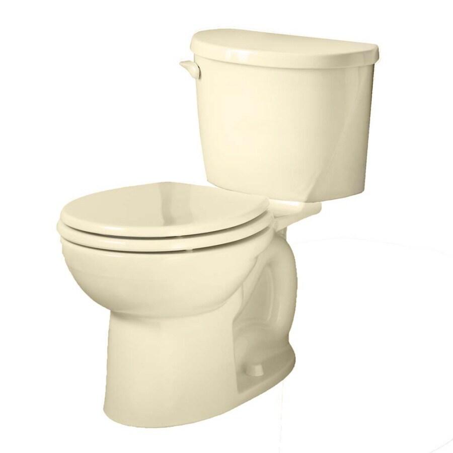 American Standard Evolution Bone 1.6-GPF/6.06-LPF 12-in Rough-in Round 2-Piece Standard Height Toilet