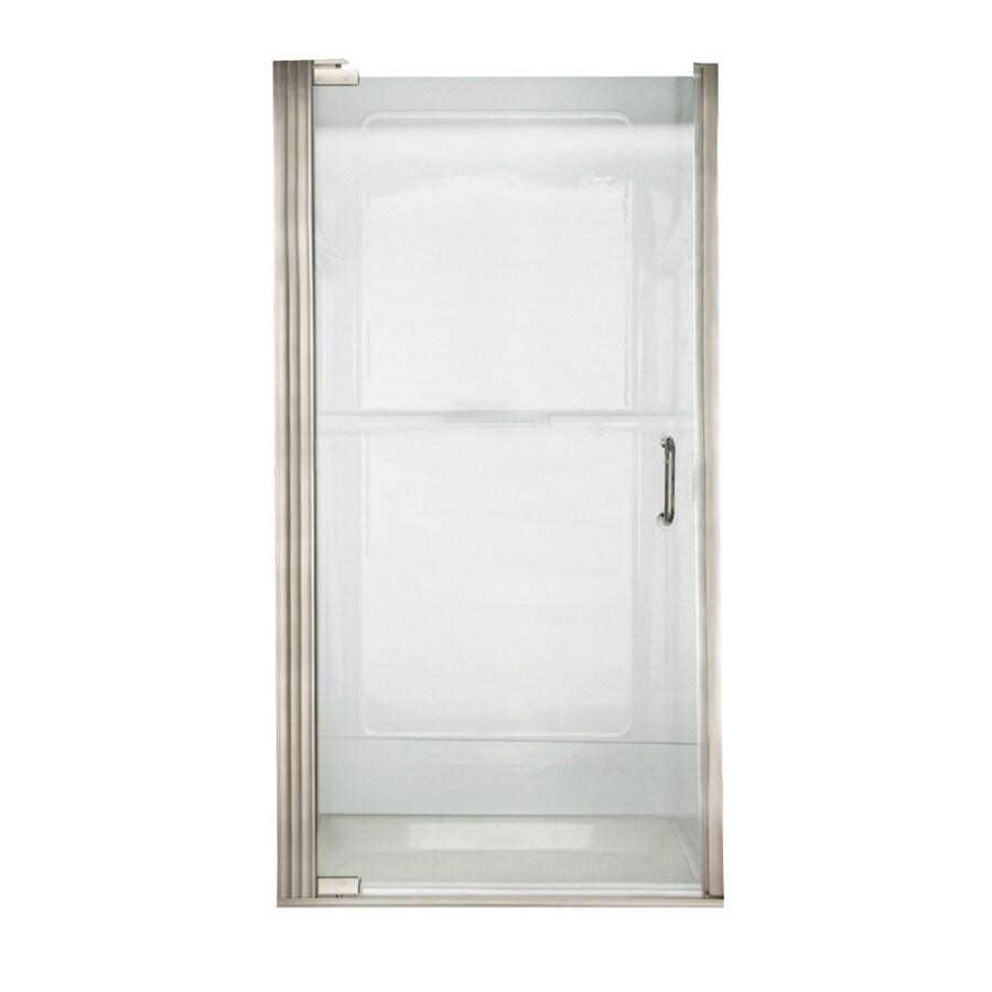 American Standard 31.0625-in to 31.9375-in Frameless Pivot Shower Door