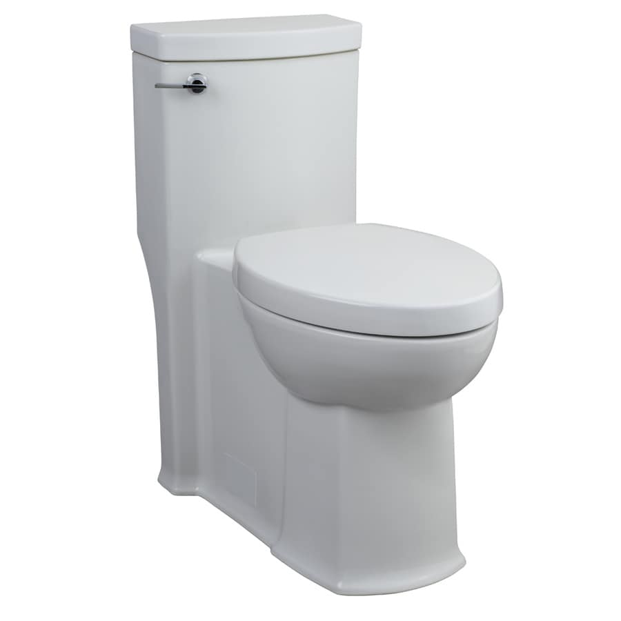 American Standard Boulevard White 1.28-GPF (4.85-LPF) 12 Rough-In WaterSense Elongated 1-Piece Chair Height Toilet