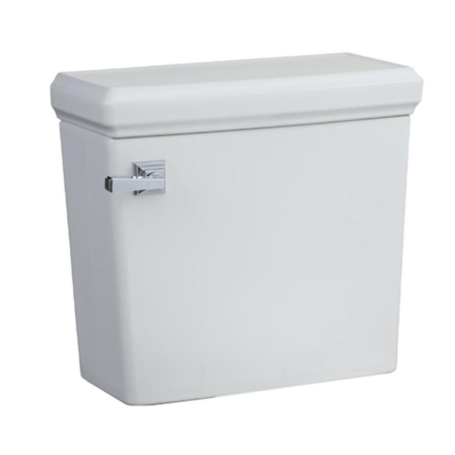 American Standard Town Square White 1.28-GPF (4.85-LPF) 12-in Rough-In Single-Flush Toilet Tank