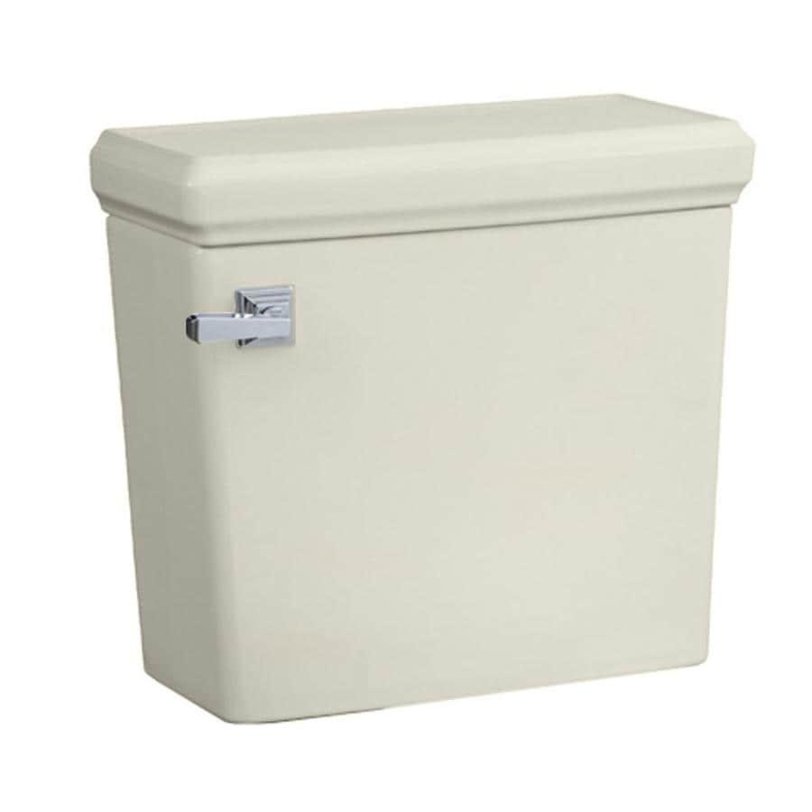 American Standard Town Square Linen 1.28-GPF (4.85-LPF) 12-in Rough-In Single-Flush Toilet Tank