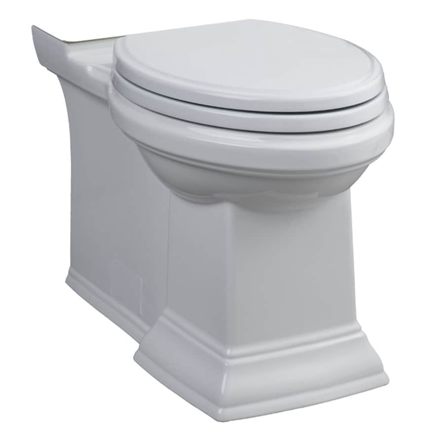 American Standard Town Square Chair Height White 12-in Rough-In Elongated Toilet Bowl