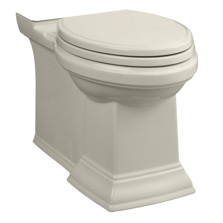 American Standard Town Square Chair Height Linen 12-in Rough-In Elongated Toilet Bowl