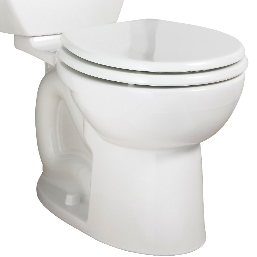 American Standard Cadet3 Standard Height White 12-In Rough-In Round Toilet Bowl
