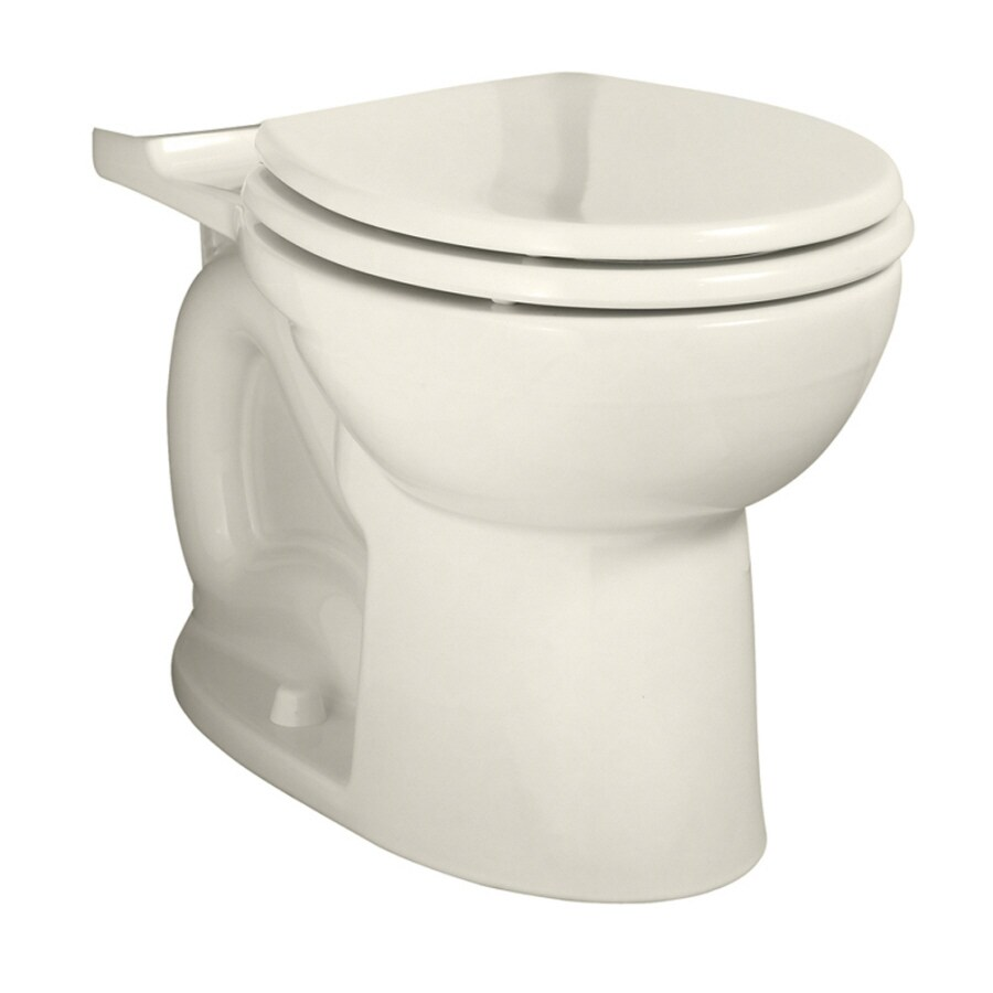 American Standard Cadet 3 Chair Height Linen 14-in Rough-In Round Toilet Bowl