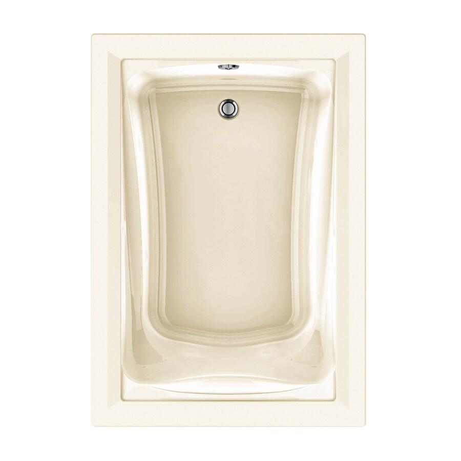 American Standard Green Tea 60-in L x 42-in W x 21-in H Linen Acrylic Rectangular Drop-in Air Bath