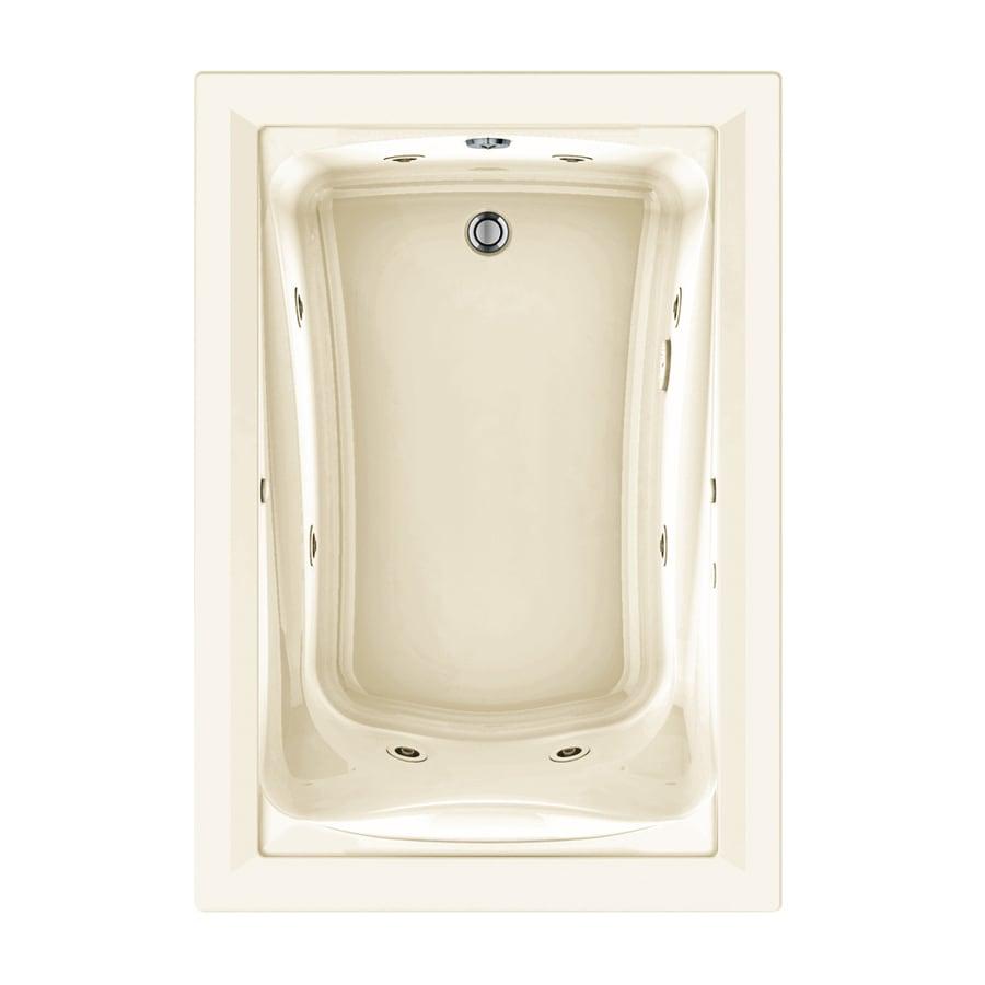 American Standard Green Tea 60-in L x 42-in W x 21-in H Linen Acrylic Rectangular Drop-in Whirlpool Tub and Air Bath